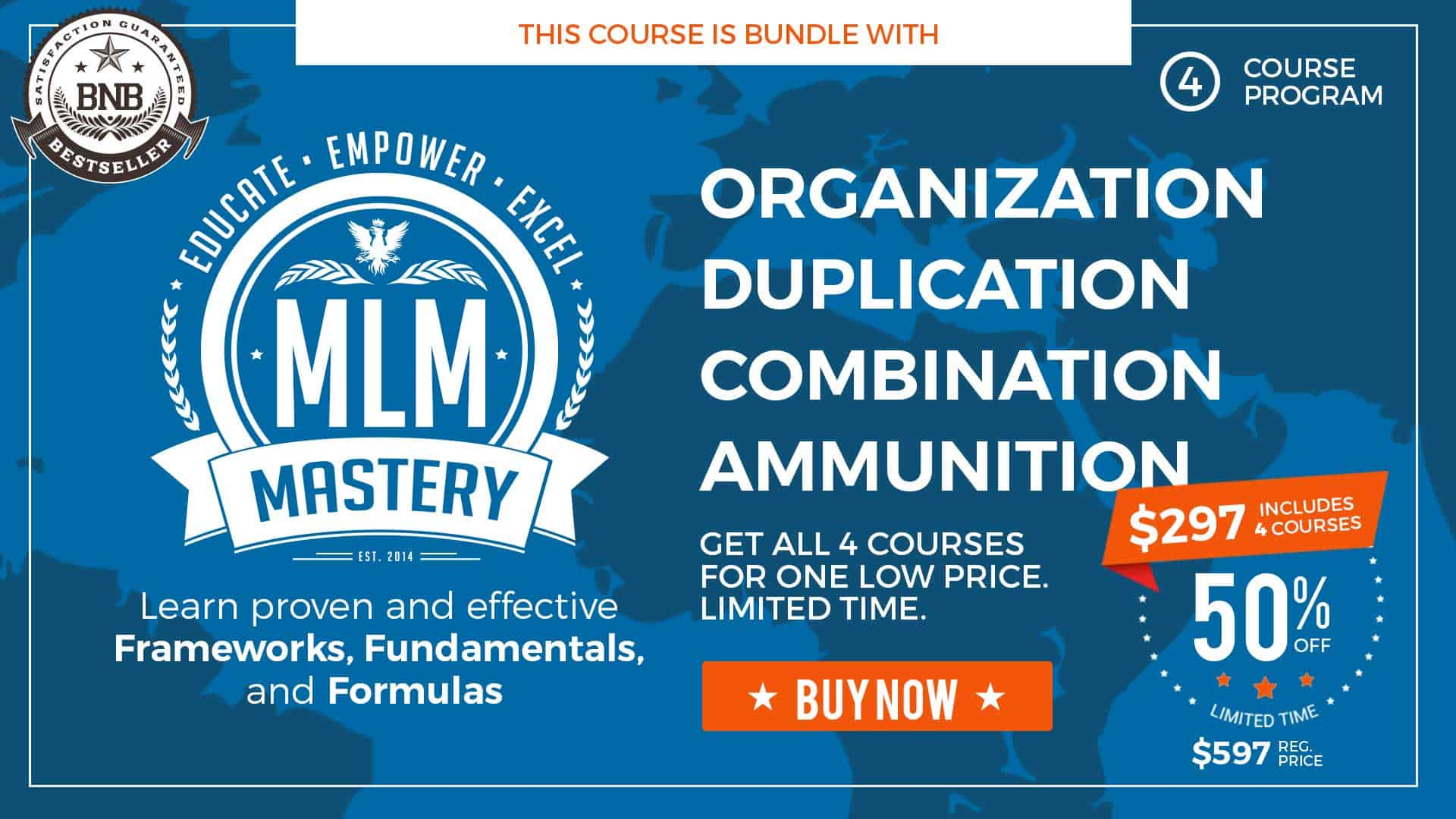 This course is bundled with MLM Mastery.