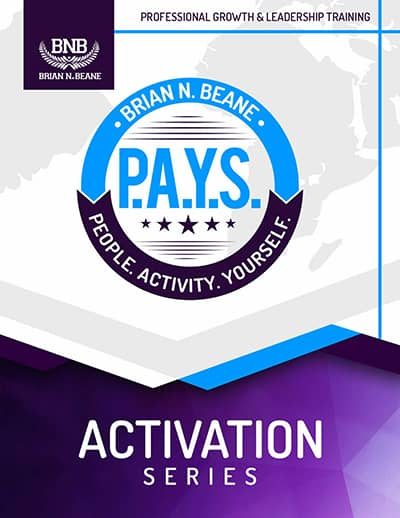 P.A.Y.S. (People. Activity. YourSelf.) Activation