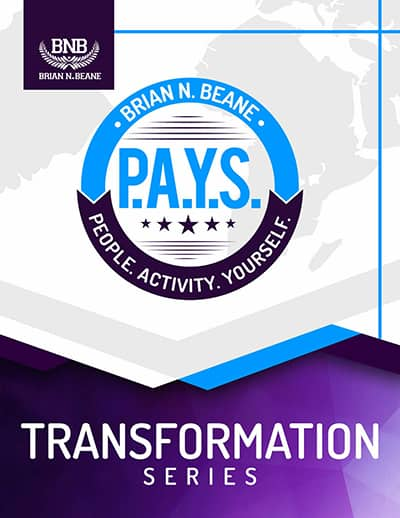 P.A.Y.S. (People. Activity. YourSelf.) Transformation