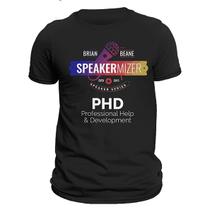 Speakermizer, PHD T-Shirt, Black