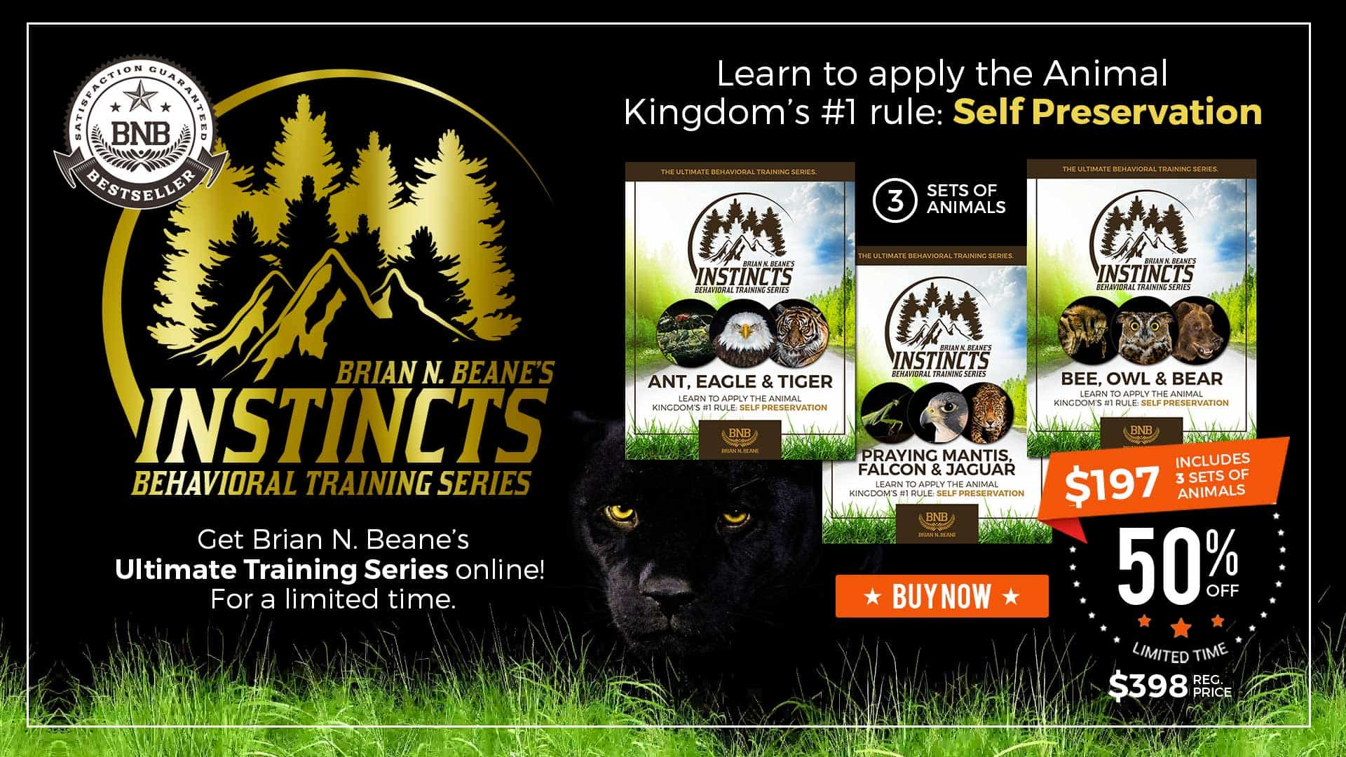 INSTINCTS: The Ultimate Behavioral Training Series.