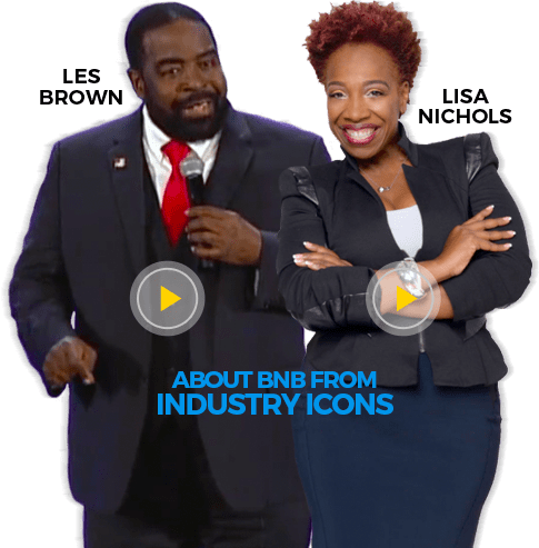 Les Brown and Lisa Nichols
