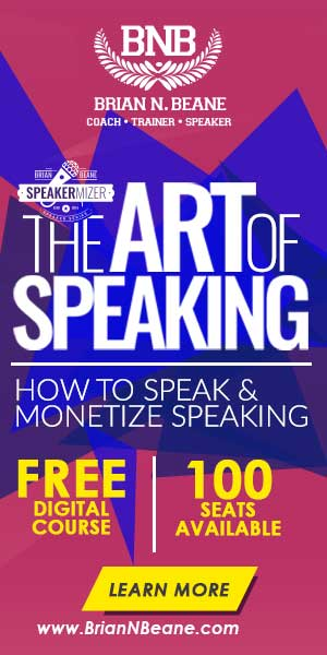 The Art of Speaking - Reserve Your Spot Now