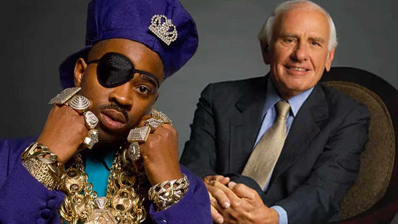 I TRADED SLICK RICK FOR JIM ROHN